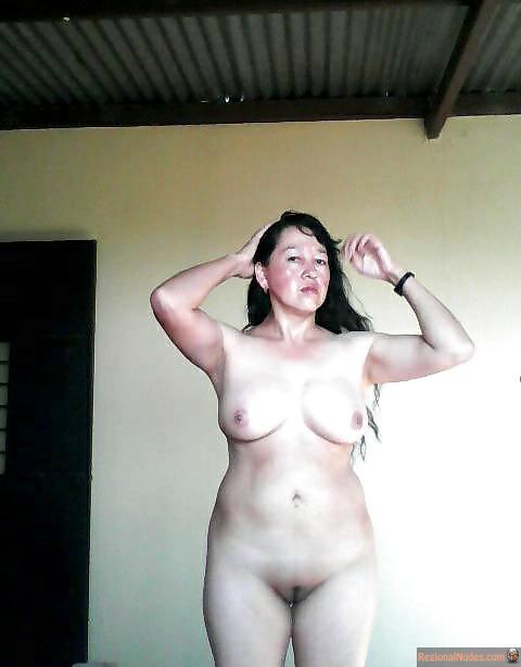 Guatemalan Wife Naked at Home