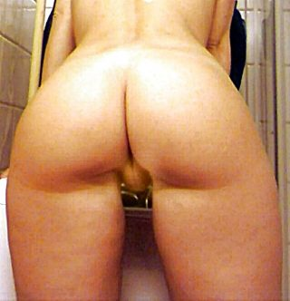 Blonde Naked Girl's Booty from Norway