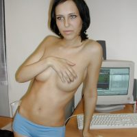 Topless Slim Macedonian Girlfriend